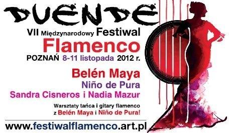 Belen Maya, Jesus Mendez, Rafael Rodrigez, Nino de Pura  - Duende Festiwal Flamenco